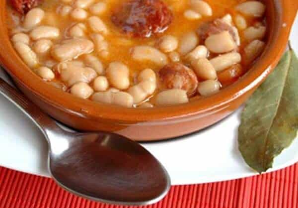 Fabada Asturiana (white bean stew)