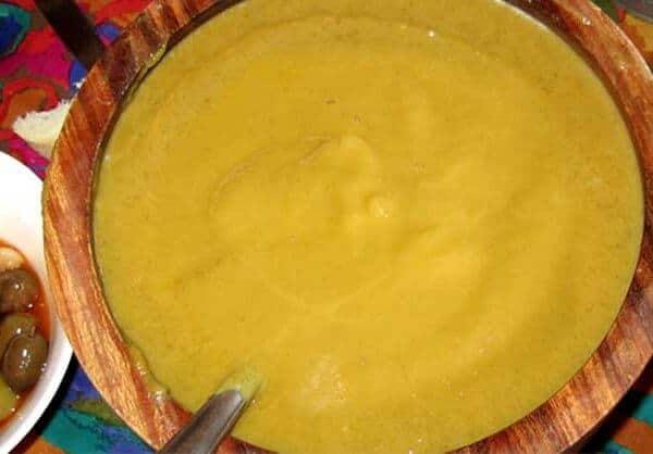 Puré de verduras (vegetable purée)