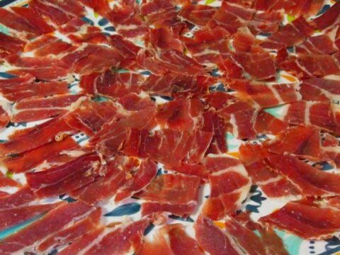 Serrano Ham made by Real Paella Catering