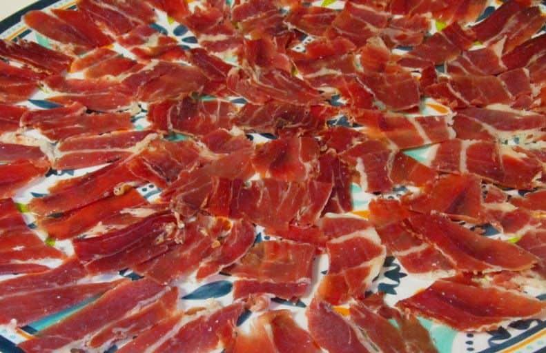 Jamon Serrano Real Paella Catering