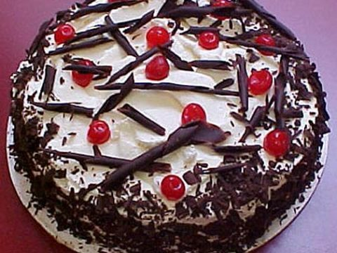 Black Forest Cake Dessert made by Real Paella Catering