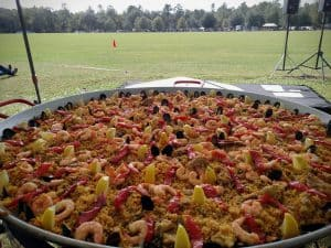 Real Paella Catering at an event in Tallahassee, Florida