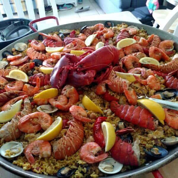 Lobster Paella (Paella Con Langosta)