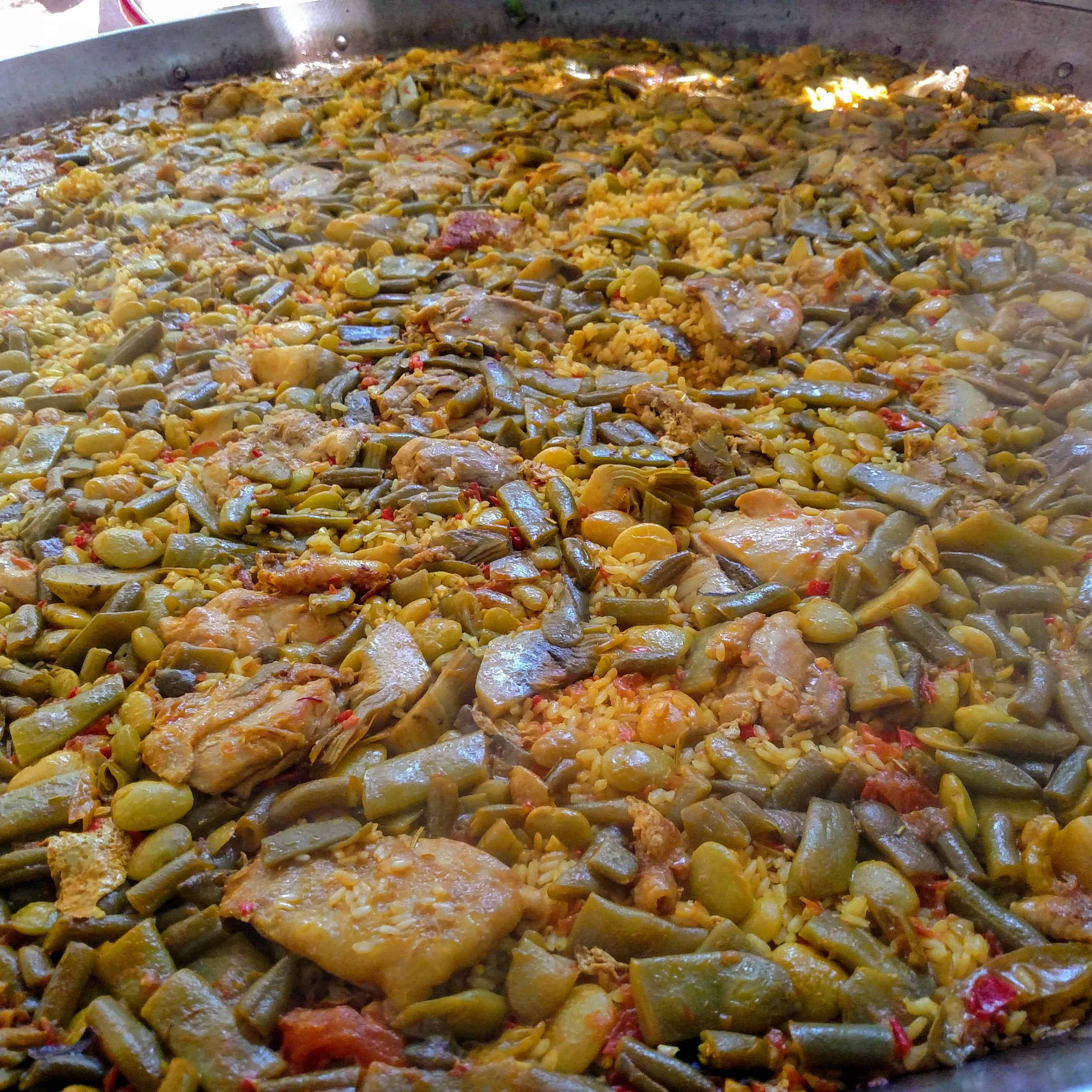 Valencian Paella made by Real Paella Catering