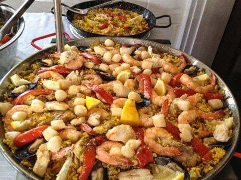 Real_Paella_and_rice