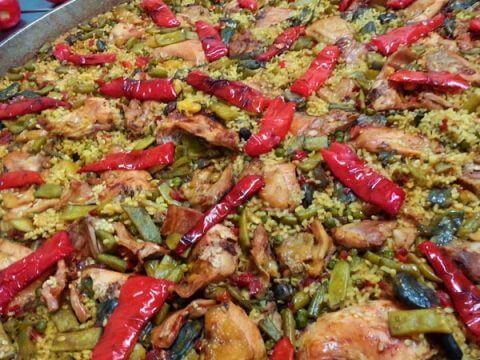 classic paella catering