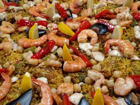paella mixta catering