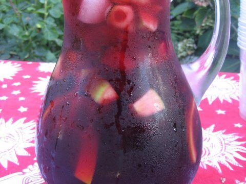 Sangria made by Real Paella Catering