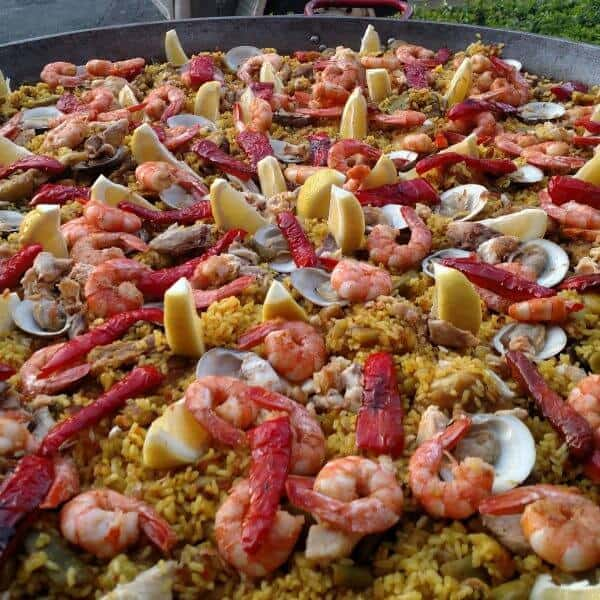 Seafood Paella (Paella De Marisco)