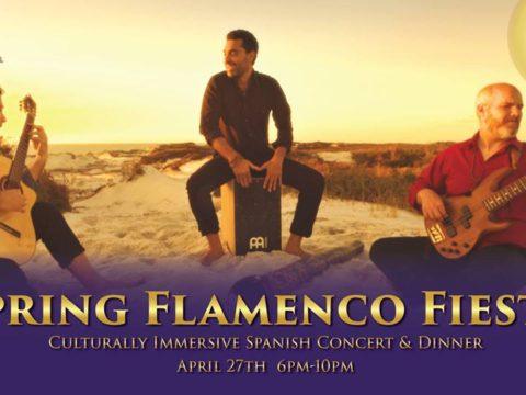 Spring Flamenco Fiesta Concert & Paella Dinner