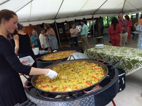 Real Paella Catering Cooked On Site