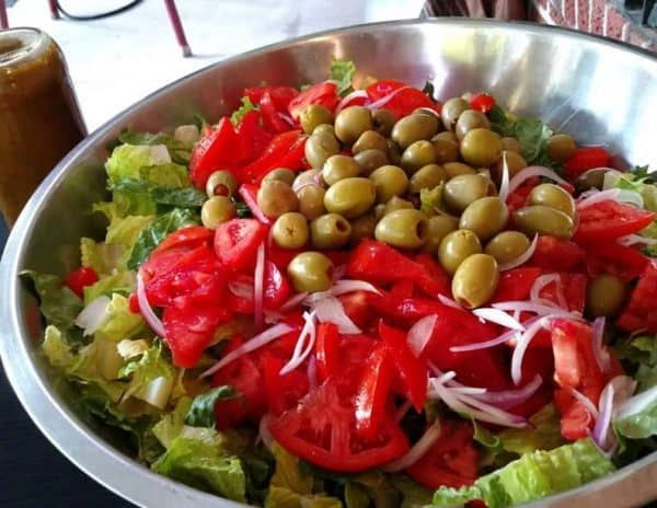 Real Paella Catering uses locally grown organic produce in our vegan salad